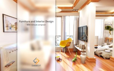 Furniture and Interior Design with SimLab Composer