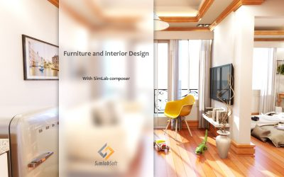 Furniture and Interior Design with SimLab