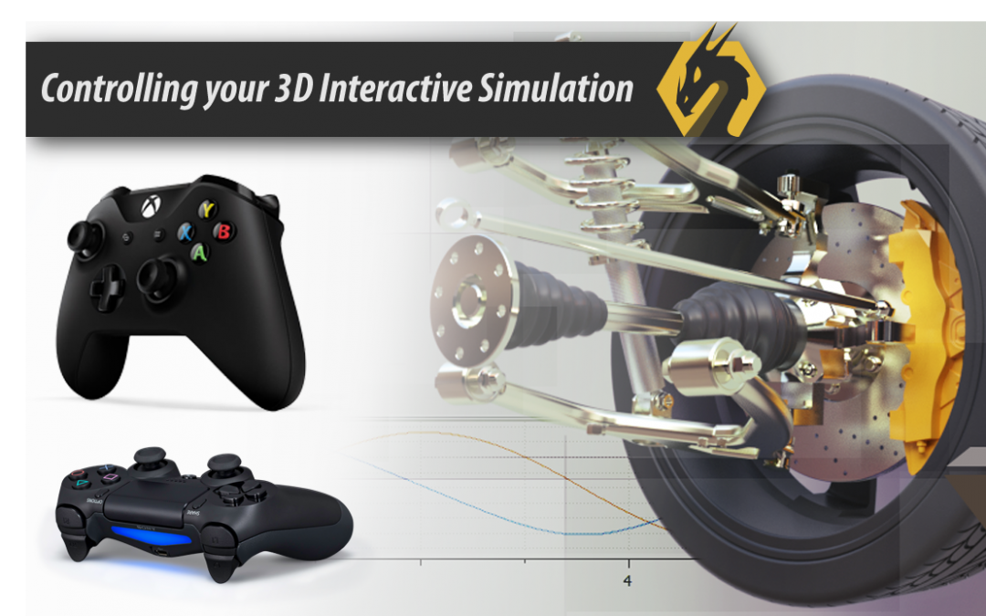 Interactive Simulation Using PlayStation/Xbox controllers