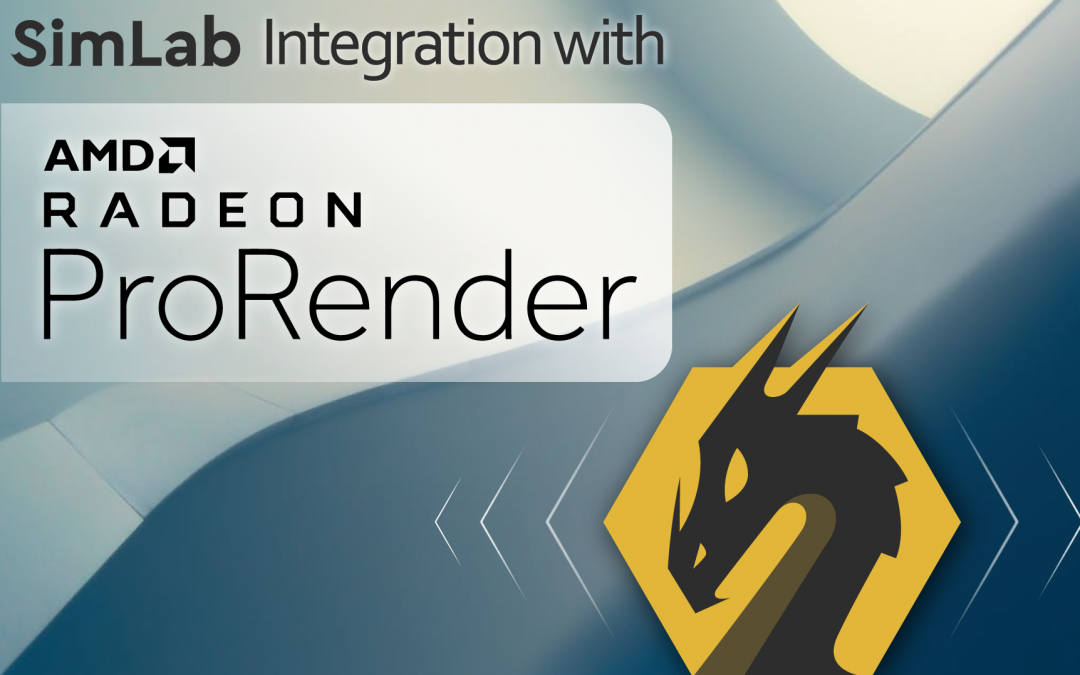 AMD Radeon ProRender With SimLab Composer