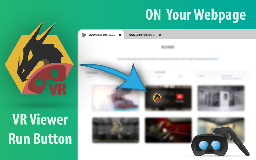 Embed VR Gallery technology(VR Viewer Run Button) in a website