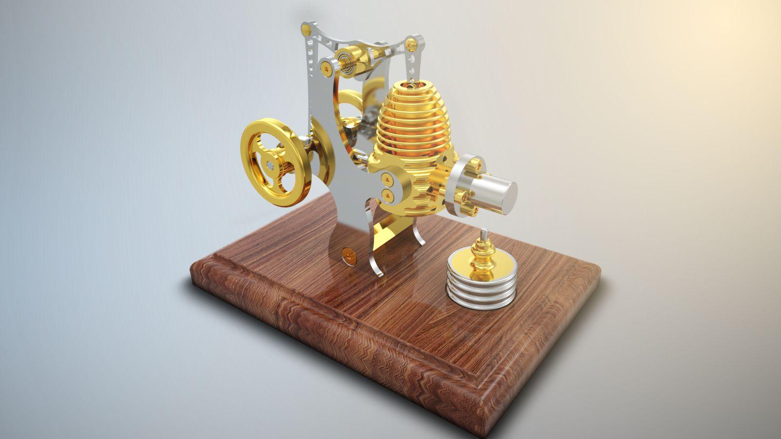 Mechanical Rendering