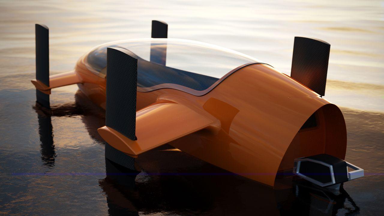 Rendered Submarine