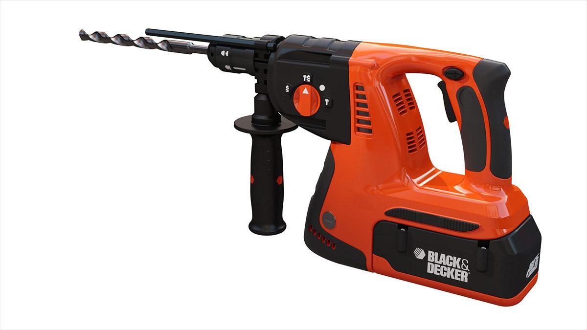 Black and Orange Drill