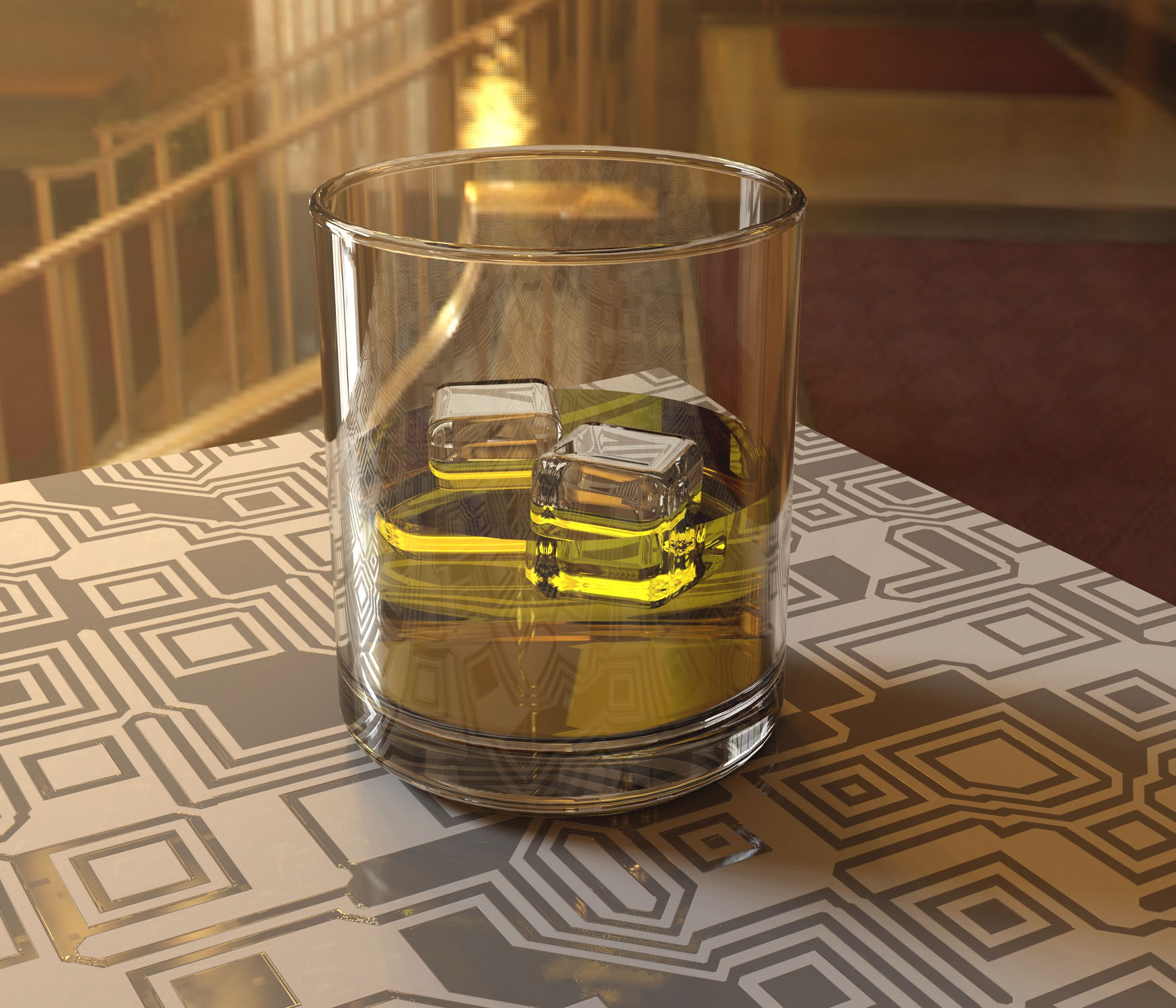 Glass Rendering