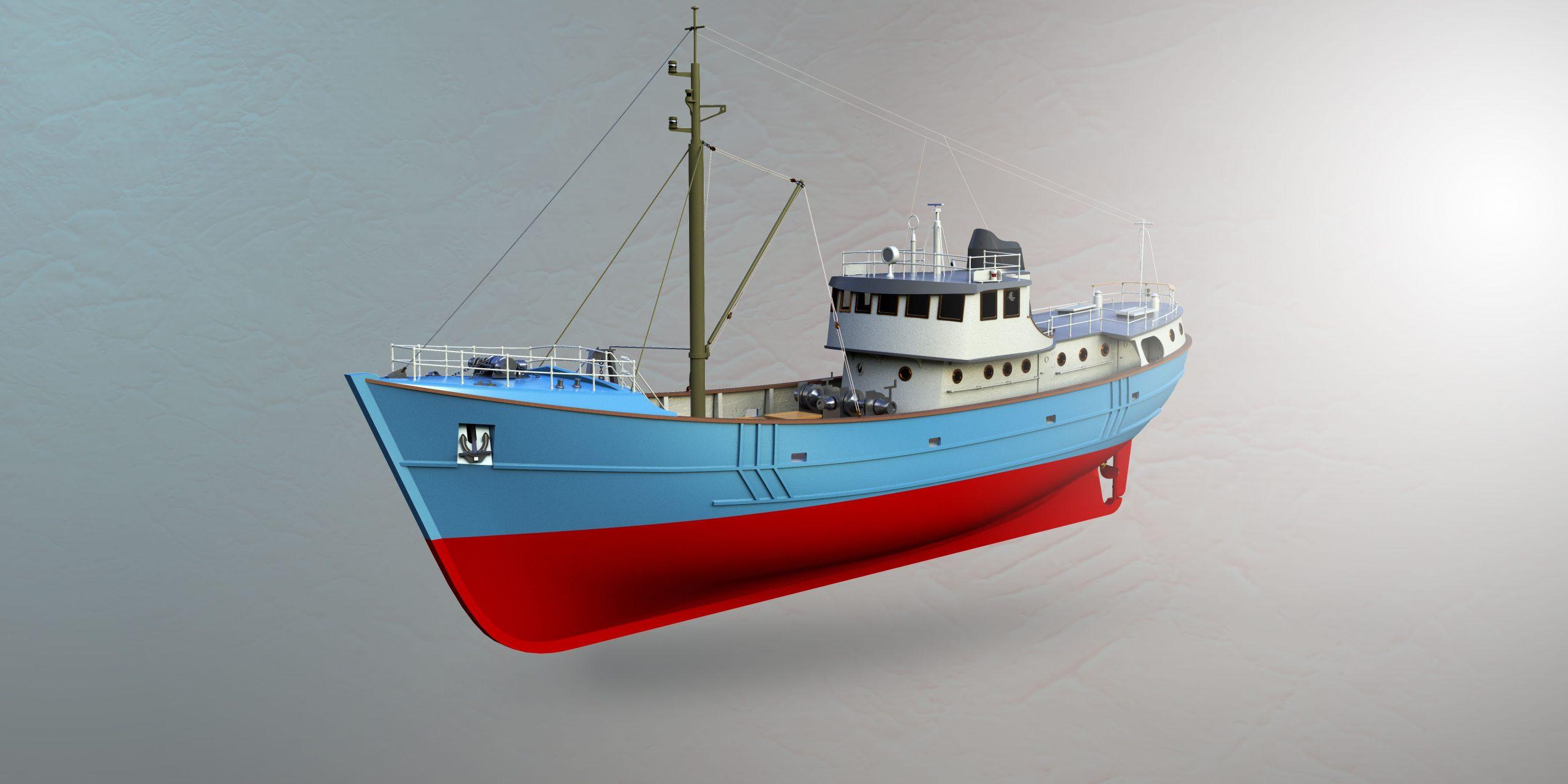 Ship Rendering