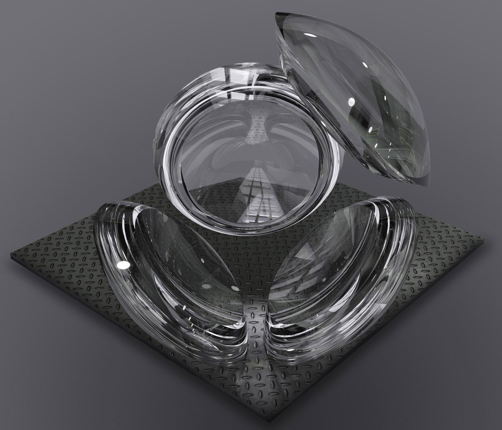 Multi Glass Reflection showcase