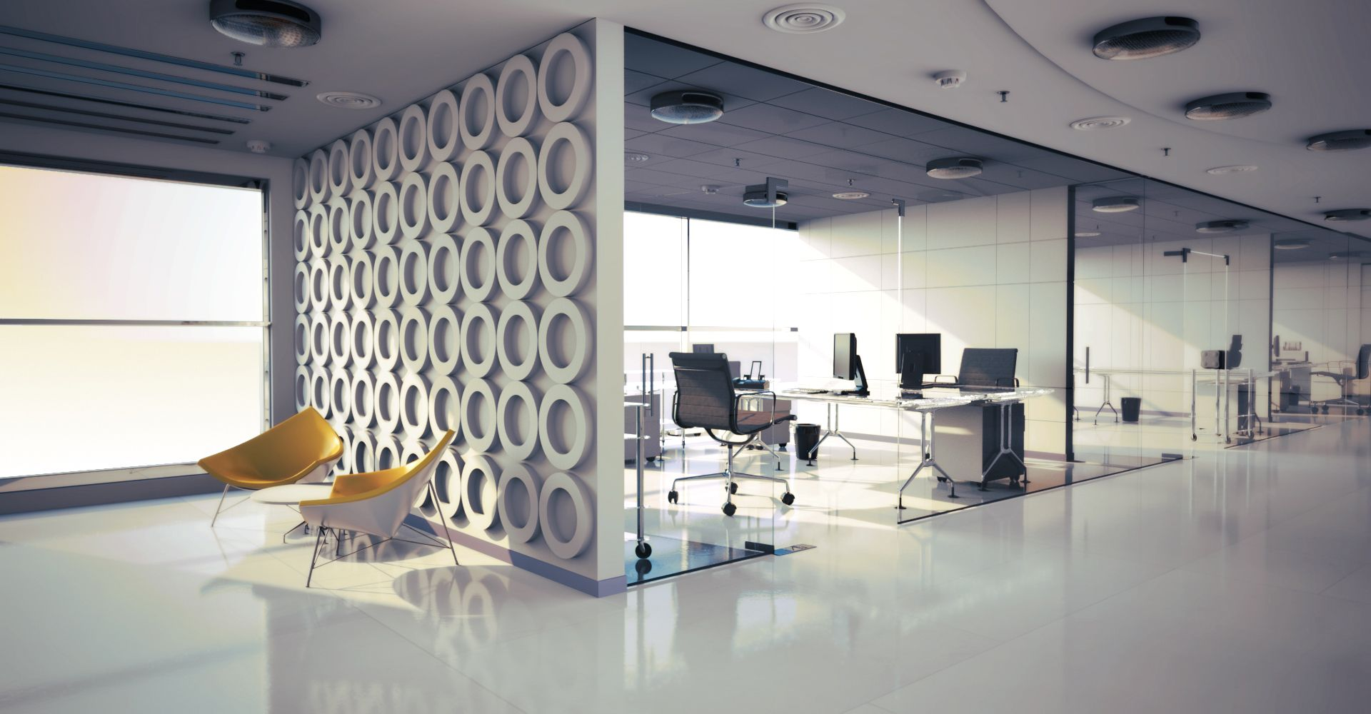 Rendered Office