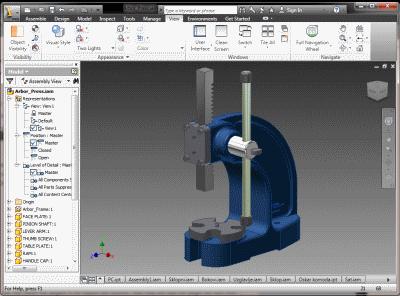 SimLab Obj Exporter for Inventor x64 full screenshot