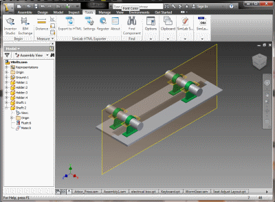 SimLab Sketchup Exporter for Inventor x64 screenshot