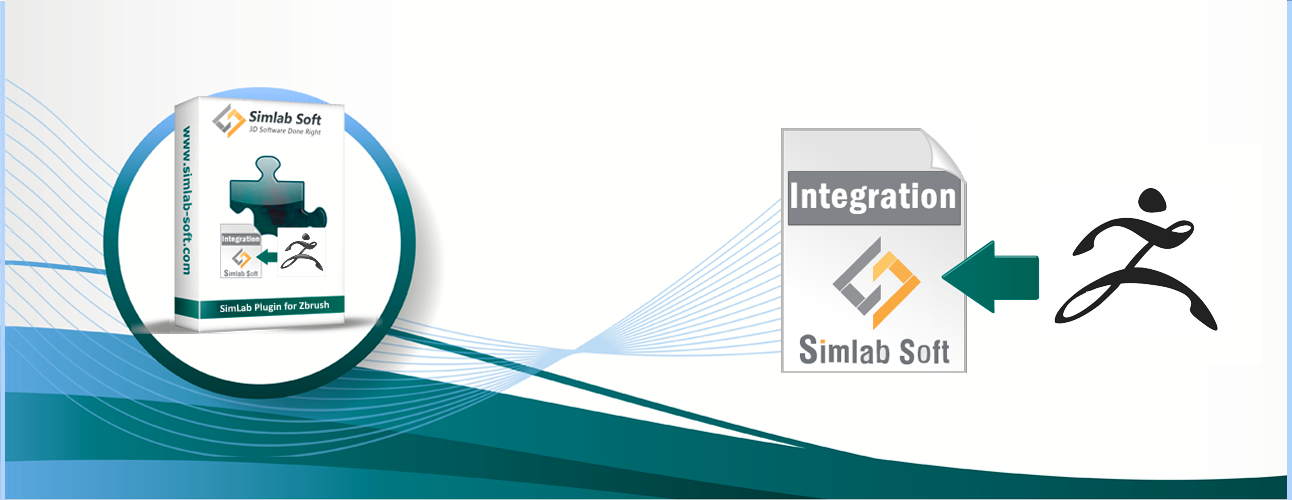 Simlab 3D Products - Simlab Composer Integration with Zbrush