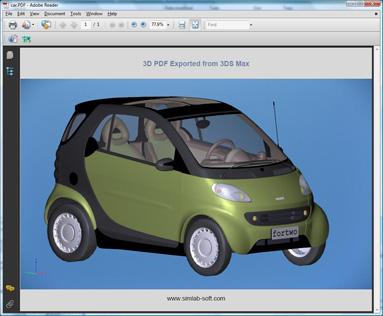 surpac export to 3d pdf