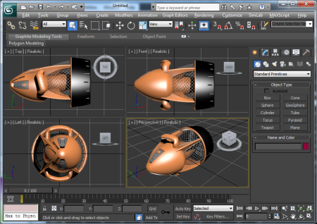 SimLab PDF Importer for 3DS Max x64 screenshot