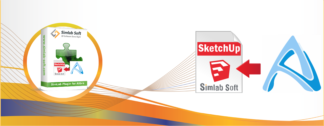 Simlab 3D Plugins - SketchUp exporter for Alibre
