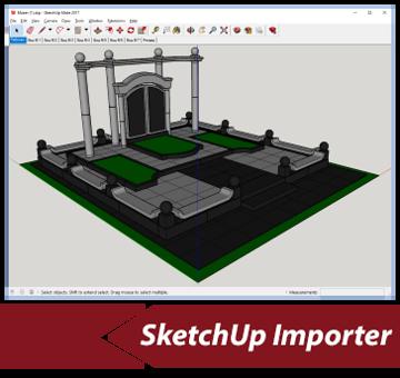 Simlab 3d plugins sketchup importer for maya for Sketchup import