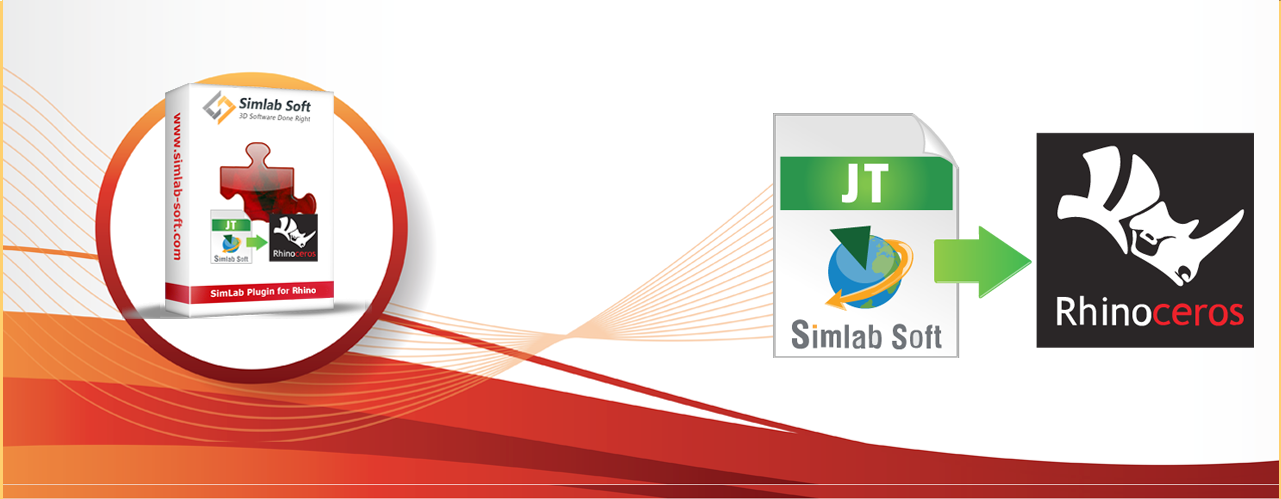 Simlab 3D Plugins - JT Importer for Rhino