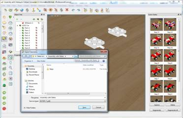 how to save a 3d paint file as pdf