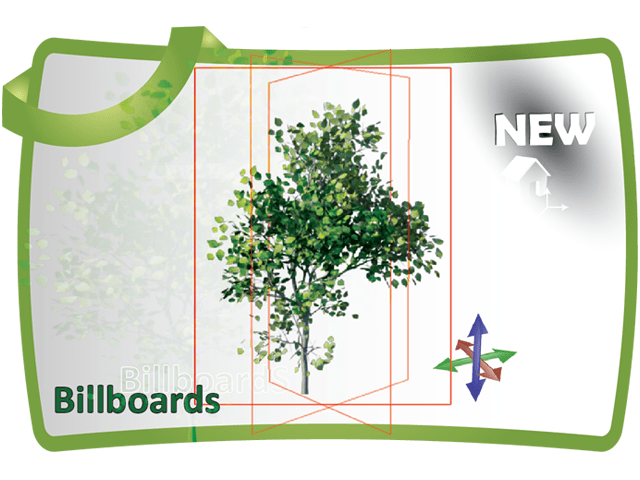 how to create a billboard material