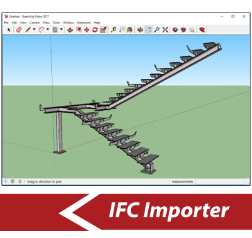 Simlab 3D Plugins - IFC importer for SketchUp