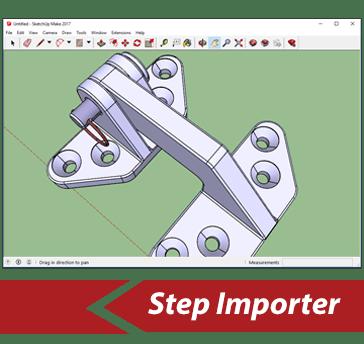 Simlab 3D Plugins - STEP importer for SketchUp