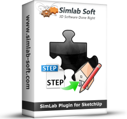 Simlab 3d plugins step importer for sketchup for How to import stl into sketchup