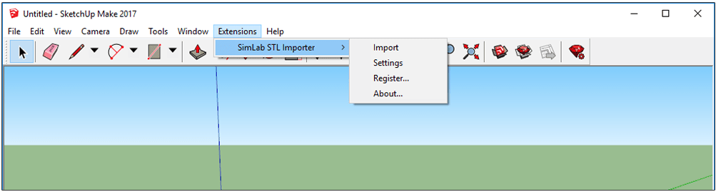 Simlab 3d plugins stl importer for sketchup for How to import stl into sketchup