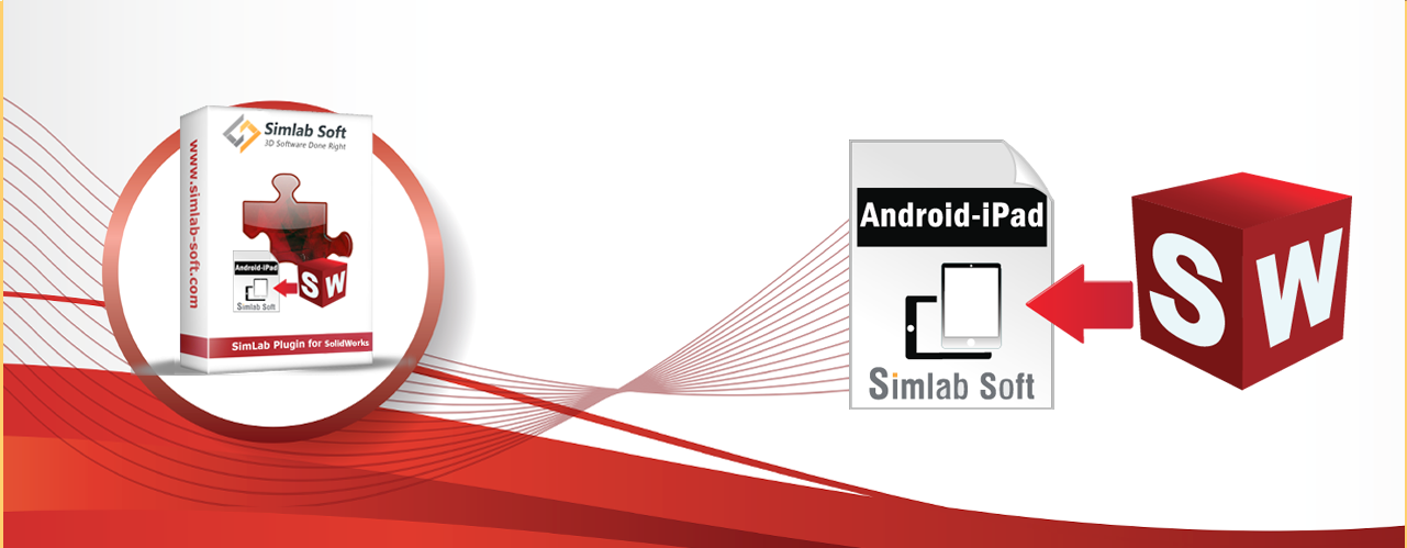Simlab 3D Plugins - Android/iPad exporter for SolidWorks