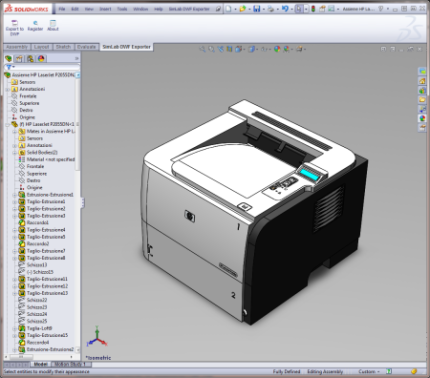 Windows 7 SimLab DWF Exporter for SolidWorks x64 3.0 full