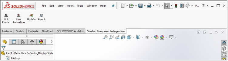 Simlab 3D Products - Simlab Composer Integration with SolidWorks