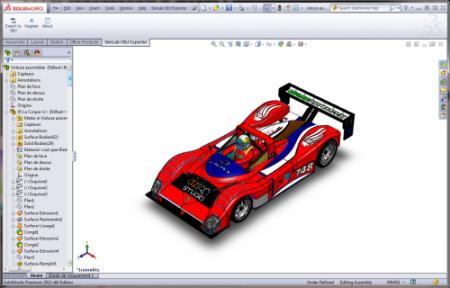 SimLab OBJ Exporter for SolidWorks x64 screenshot
