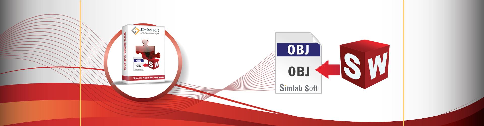 Simlab 3D Plugins - OBJ exporter for SolidWorks