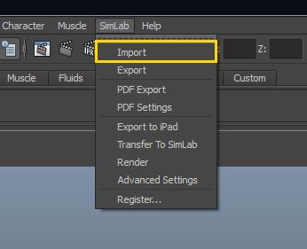 Simlab 3D Plugins - Rhino importer for Maya