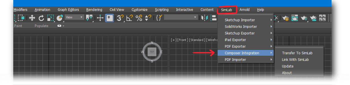 Simlab 3D Products - Simlab Composer Integration with 3ds Max