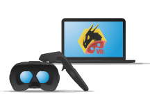 SimLab's VR Viewer is a Free stand-alone application that can view, edit and share interactive VR experiences created by SimLab Composer